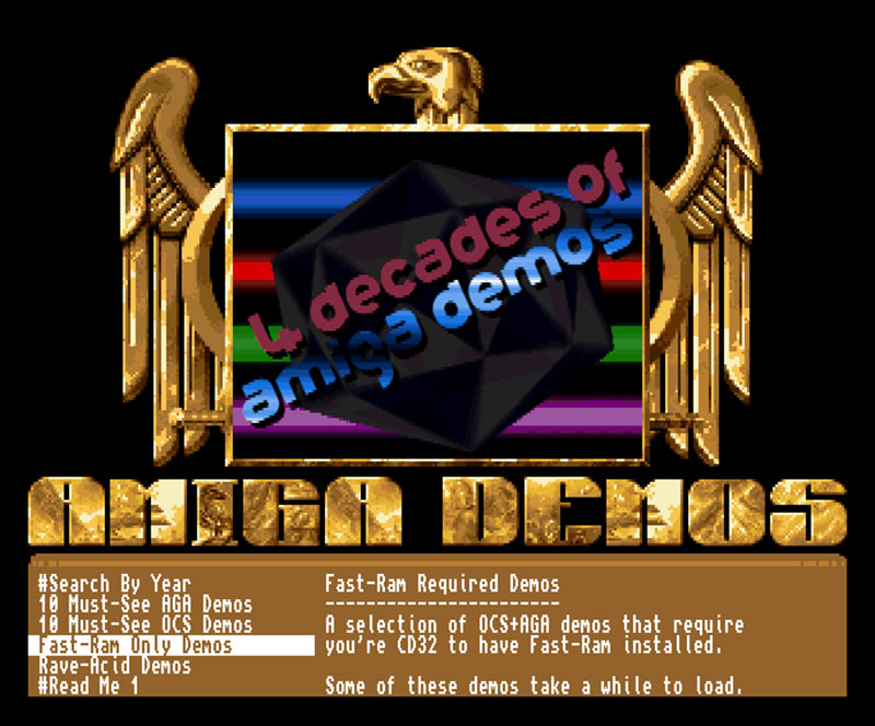 4 Decades of Amiga Demos CD32