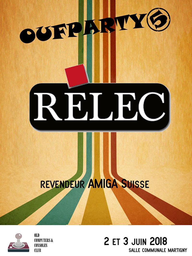 Amiga - Relec : Offre spéciale pour la Oufparty 5