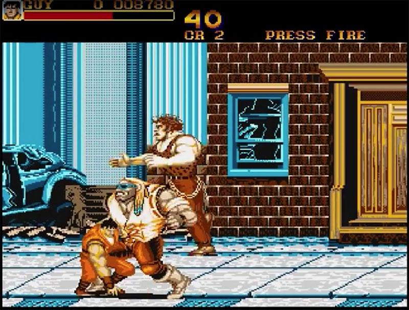 Final Fight Amiga
