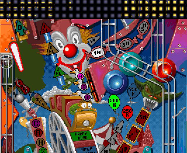 Pinball Fantasies Ingame