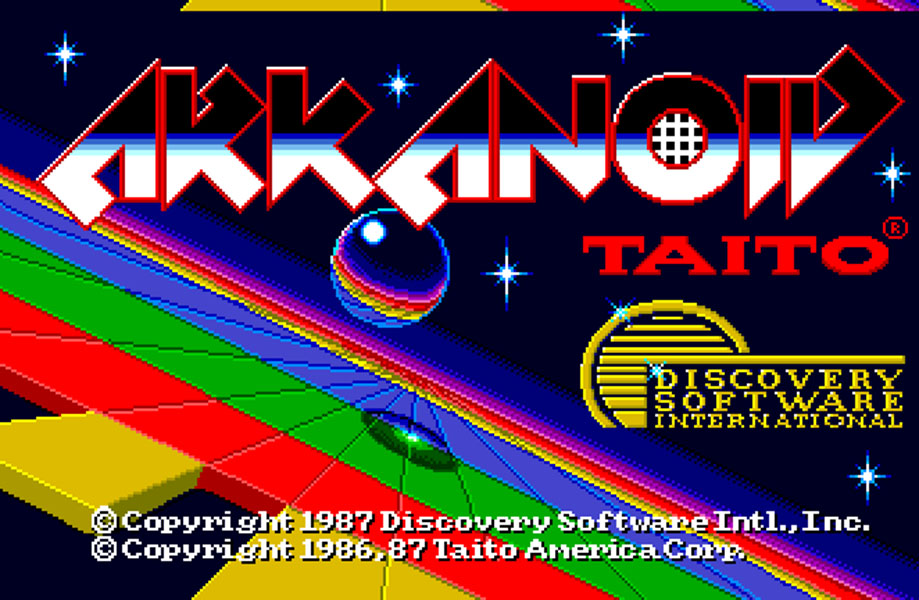 Concours du mois - Arkanoid  - Taito