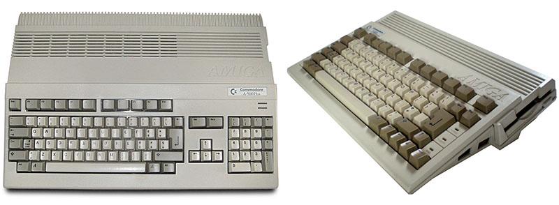 Amiga 500 Plus vs 600