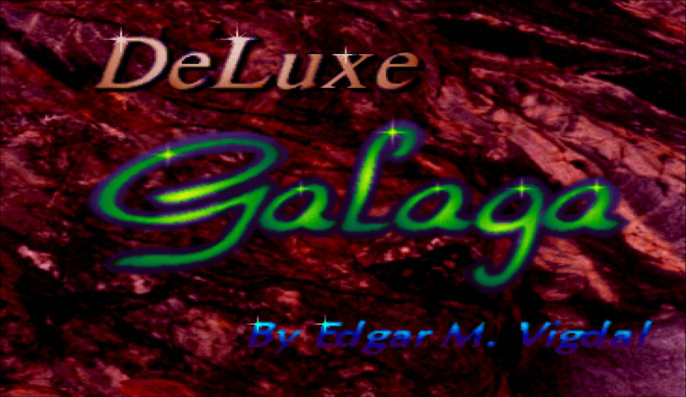 Concours du mois (janvier 2021) - Deluxe Galaga - Edgar M. Vigdal