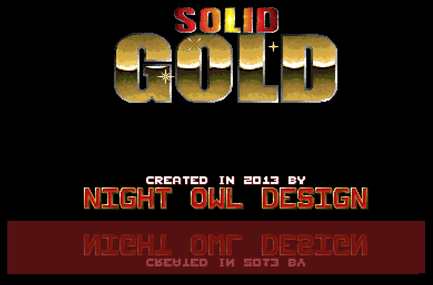 Concours du mois (mars 2021) - Solid Gold - Night Owl Design