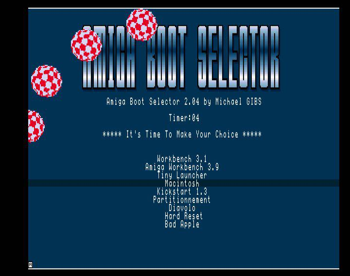 Tutorial - Install and setup Amiga Boot Selector 2 - Amiga