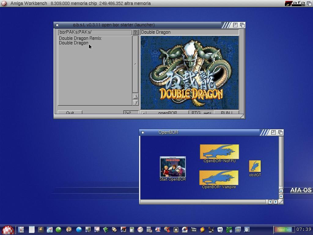 Openbor 68k - Amiga France