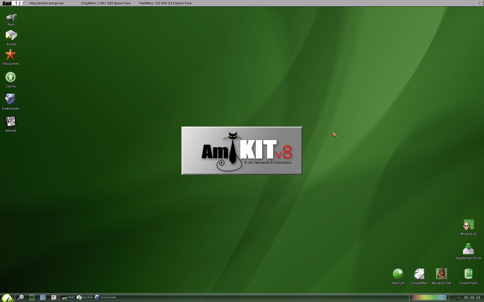 Workbench] Amikit - Amiga France